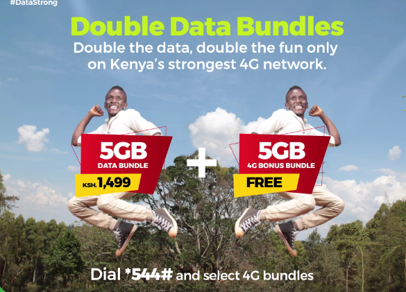 How to get double the fun with the Safaricom 4G Double Data